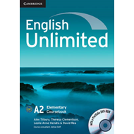 English Unlimited Elementary Coursebook with e-Portfolio (BOK)