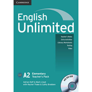 English Unlimited Elementary Teacher's Pack (Teacher's Book with DVD-ROM) (BOK)