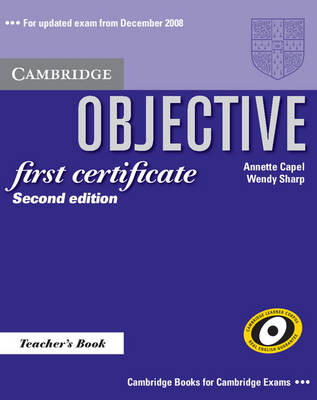 Objective First Certificate Teacher's Book (BOK)