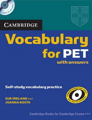 Cambridge Vocabulary for PET Student Book with Answers and A (BOK)