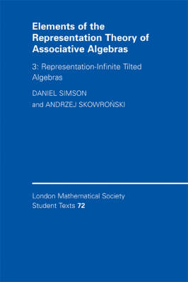 Elements of the Representation Theory of Associative Algebras: Volume 3, Representation-infinite Til (BOK)