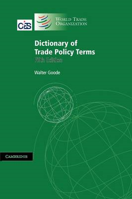 Dictionary of Trade Policy Terms (BOK)