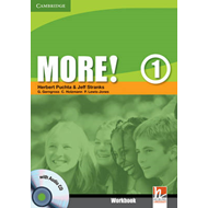 More! Level 1 Workbook with Audio CD: Level 1 (BOK)