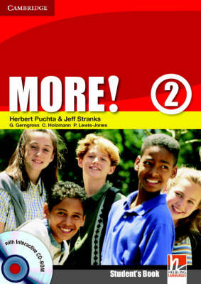 More! Level 2 Student's Book with Interactive CD-ROM: Level 2 (BOK)