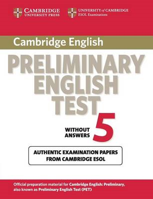 Cambridge Preliminary English Test 5 Student's Book (BOK)