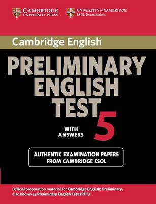 Cambridge Preliminary English Test 5 Student's Book with ans (BOK)