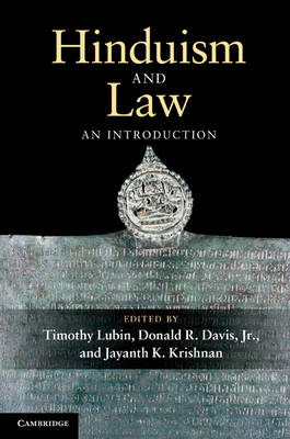 Hinduism and Law: An Introduction (BOK)