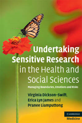 Undertaking Sensitive Research in the Health and Social Scie (BOK)