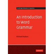 Introduction to Word Grammar (BOK)