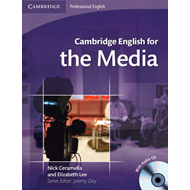 Cambridge English for the Media Student's Book with Audio CD (BOK)