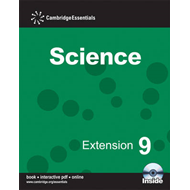 Cambridge Essentials Science Extension 9 with CD-ROM (BOK)