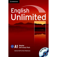 English Unlimited Starter Self-study Pack (Workbook with DVD-ROM) (BOK)