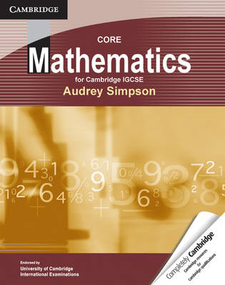 Core Mathematics for Cambridge IGCSE (BOK)
