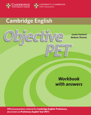 Objective PET Workbook with Answers (BOK)