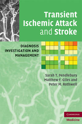 Transient Ischemic Attack and Stroke: Diagnosis, Investigation and Management (BOK)