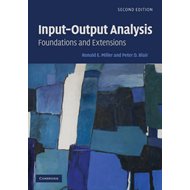Input-output Analysis: Foundations and Extensions (BOK)