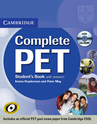 Complete PET Student's Book with Answers with CD-ROM (BOK)