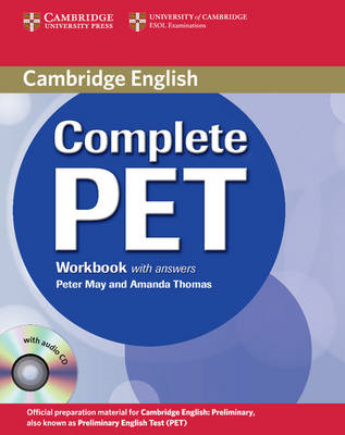 Complete PET Workbook with Answers with Audio CD (BOK)