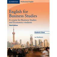 English for Business Studies Student's Book (BOK)