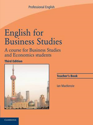 English for Business Studies Teacher's Book (BOK)