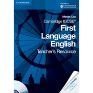 Cambridge IGCSE First Language English Teacher's Resource Book with CD-ROM (BOK)