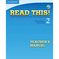 Read This! Level 2 Teacher's Manual with Audio CD: Fascinating Stories from the Content Areas: Level (BOK)