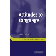 Attitudes to Language (BOK)