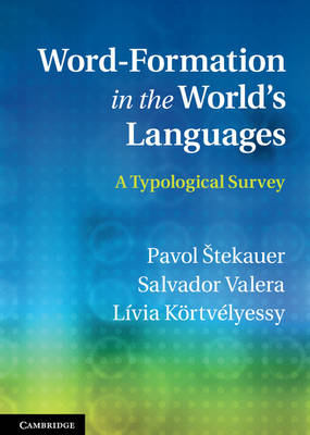 Word-Formation in the World's Languages (BOK)