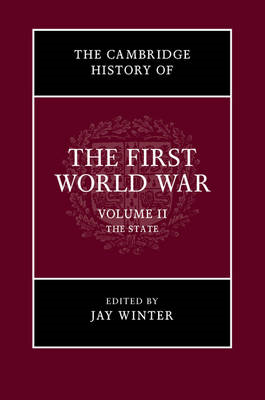 Cambridge History of the First World War (BOK)