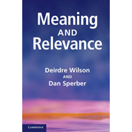 Meaning and Relevance (BOK)
