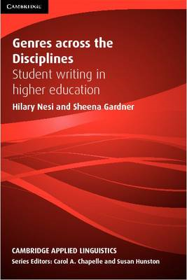 Genres Across the Disciplines: Student Writing in Higher Education (BOK)