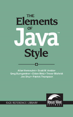 Elements of Java(TM) Style (BOK)