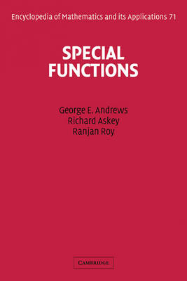 Special Functions (BOK)