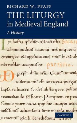 Liturgy in Medieval England (BOK)