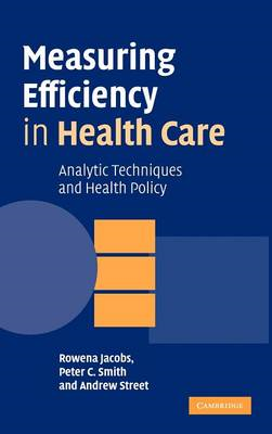 Measuring Efficiency in Health Care (BOK)