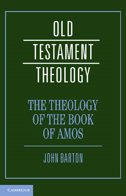 The Theology of the Book of Amos (BOK)