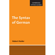The Syntax of German (BOK)