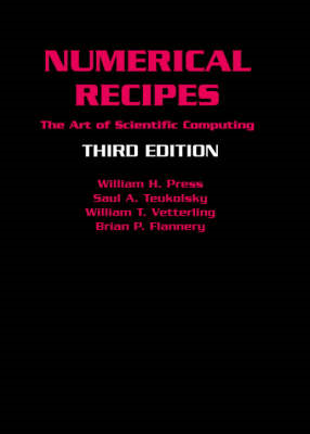 Numerical Recipes 3rd Edition (BOK)