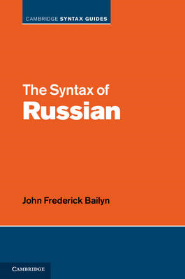 The Syntax of Russian (BOK)