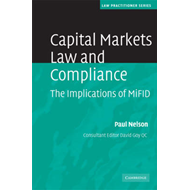Capital Markets Law and Compliance: The Implications of MiFID (BOK)