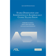 Stable Domination and Independence in Algebraically Closed Valued Fields (BOK)