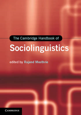 The Cambridge Handbook of Sociolinguistics (BOK)