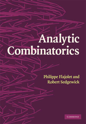 Analytic Combinatorics (BOK)
