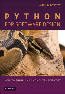 Python for Software Design: How to Think Like a Computer Scientist (BOK)