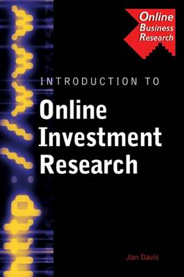 Introduction to Online Investment Research (BOK)