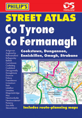 Philip's Street Atlas Tyrone and Fermanagh (BOK)