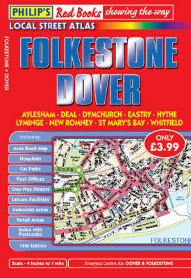 Philip's Red Books Folkestone and Dover (BOK)