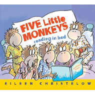 Five Little Monkeys Reading in Bed (BOK)