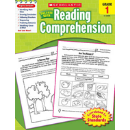 Scholastic Success with Reading Comprehension, Grades 1 (BOK)