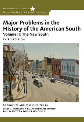 Major Problems in the History of the American South (BOK)